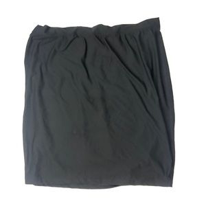 Spanx smoothing mini skirt black size 3X